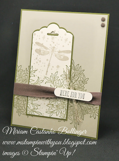 Miriam Castanho-Bollinger, #mstampinwithyou, stampin up, demonstrator, get well, masculine card, ccmc, awesomely artistic, and many more stamp set, word window, scalloped tag topper punch, linen thread, candy dots, su