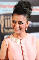 Akshara Haasan in Peachy Crop Top Choli Skirt at IIFA Utsavam Awards 56.JPG