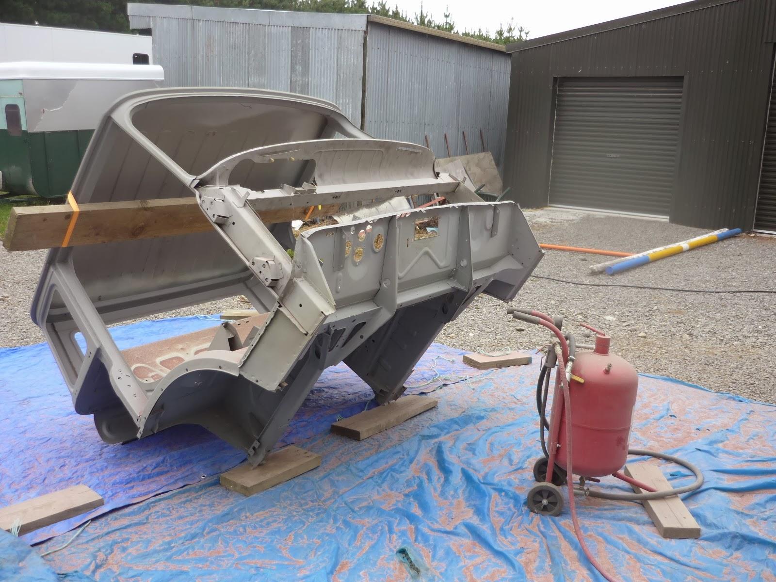 Bedford TK Restoration: Back to the cab II