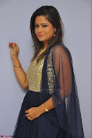 Shilpa Chakravarthy anchor and actress in anarkali dress  Exclusive 012.JPG