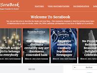 Blogger Premium Versiyon Kitap Teması - Sora Book