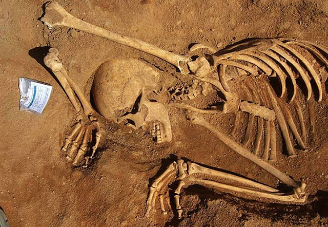 Burials of Africans slaves found at old rubbish dump in Portugal