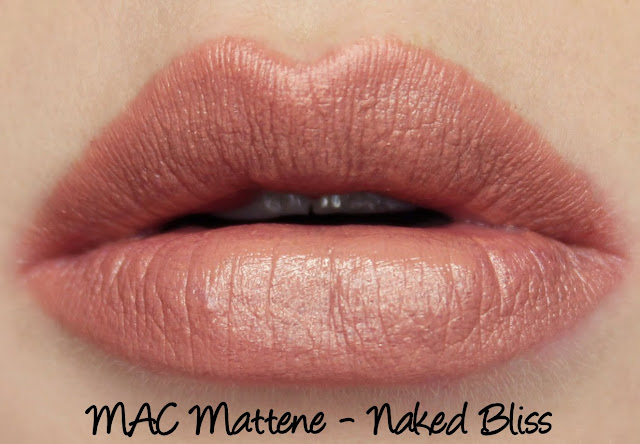 MAC MONDAY | Posh Paradise - Naked Bliss Mattene Swatches & Review