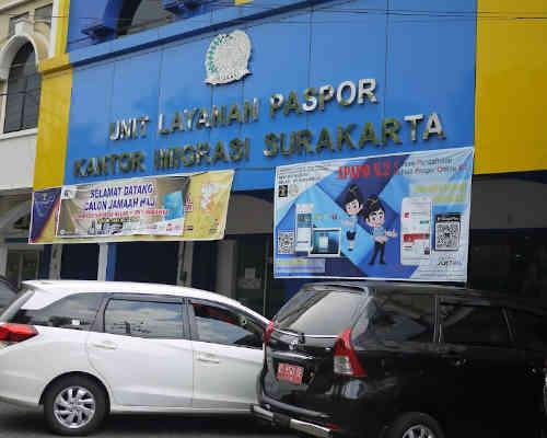 Alamat Telepon Unit Layanan Paspor Sukoharjo - Jawa Tengah