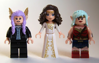 LEGO Elves hair