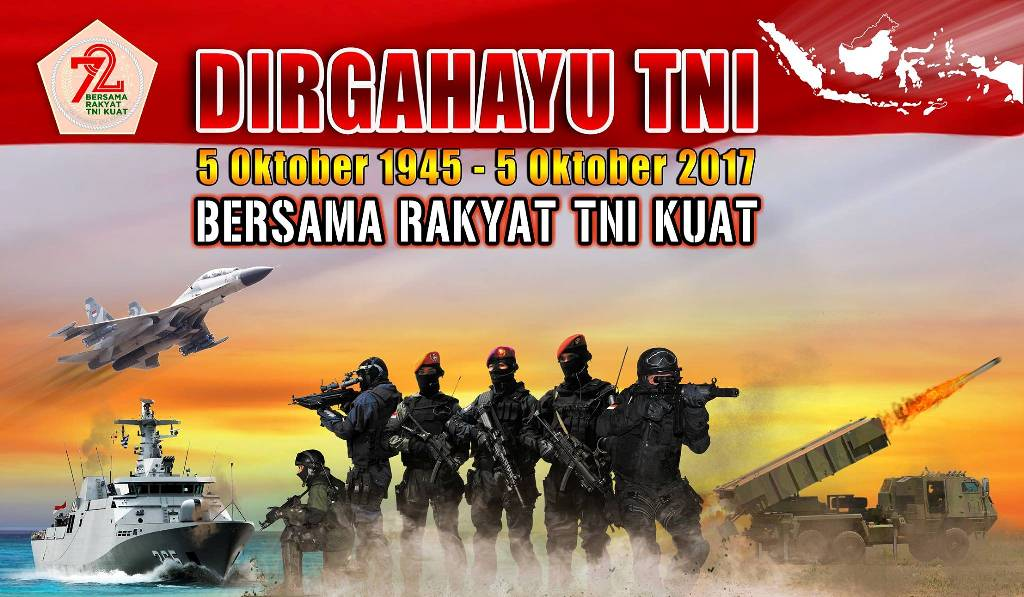Streaming HUT TNI ke-72