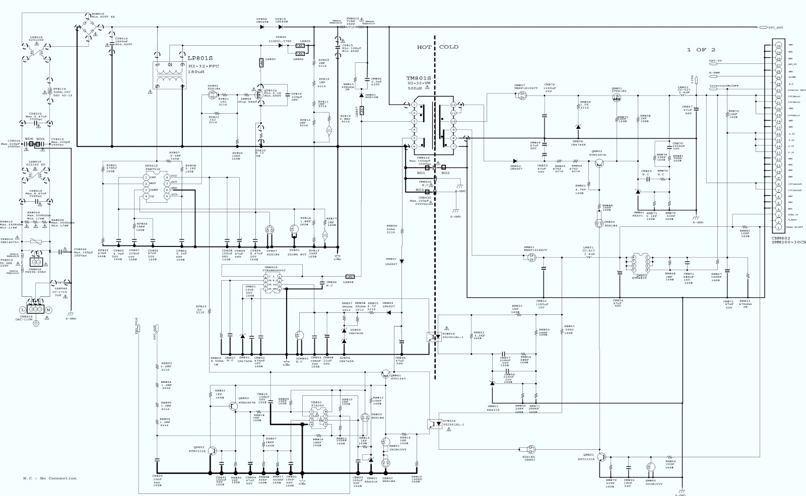 schematic tv lcd