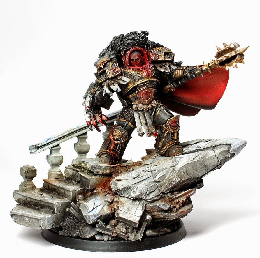 Showcase: Horus Warmaster Primarch of the Sons of Horus ...  Showcase: Horus...