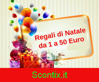 Regali Di Natale 1 Euro.Speciale Regali Di Natale Da 1 A 150 Euro Gli Sconti Amazon Introvabili Di Oggi Dal 50 Al 99