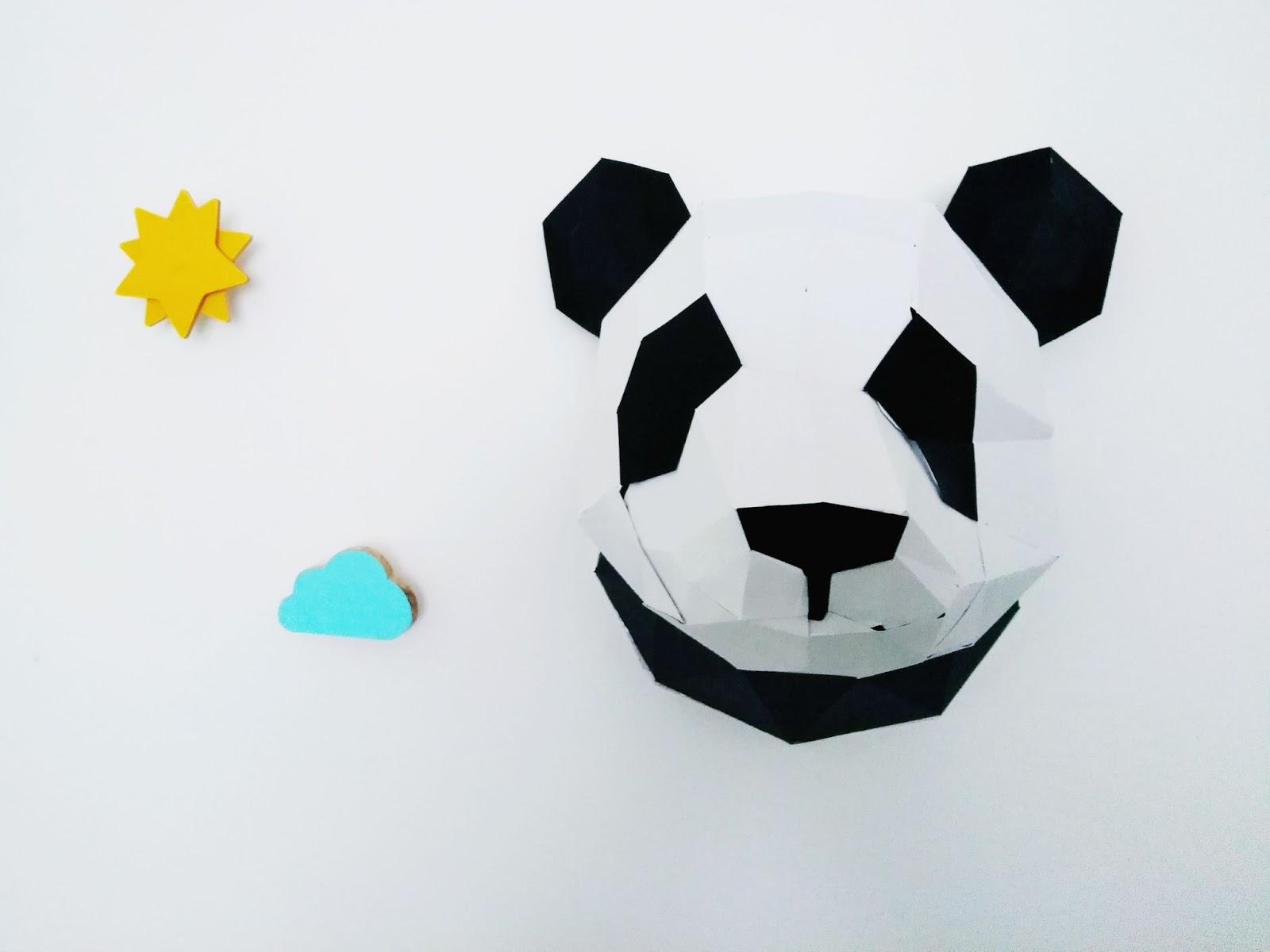 Agent Paper, creation, papier, panda