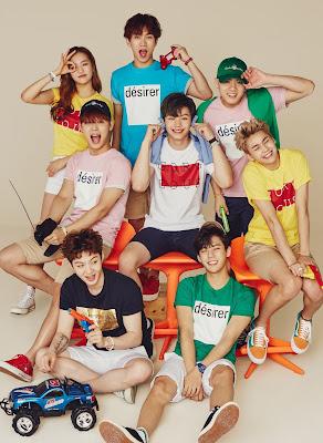 Yeeun CLC BTOB TBJ Spring Summer 2016