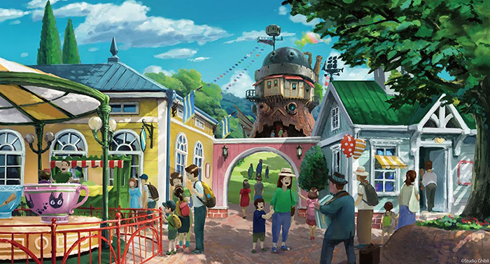 These Are The Stunning Visualizations Of The Studio Ghibli Theme Park That Will Open In 2022