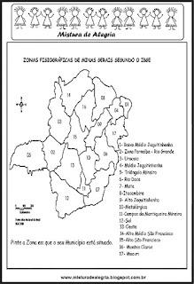 Zonas fisiográficas de Minas Gerais