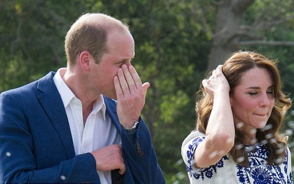 New photos relating to the Taj Mahal visit of Prince William and Kate Middleton - Duchess of Cambridge were published.