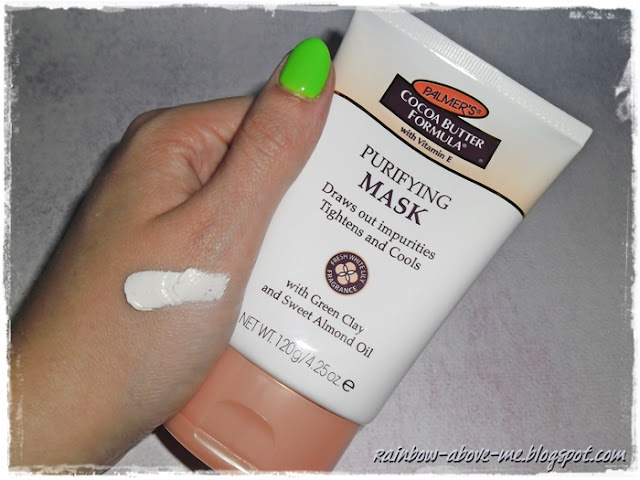 palmer's cocoa butter formula purifying mask opinie review recenzje