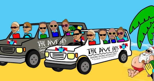 It's time to start planning your Christmas and New Year at The Dive Bus, Curacao, ho ho ho!