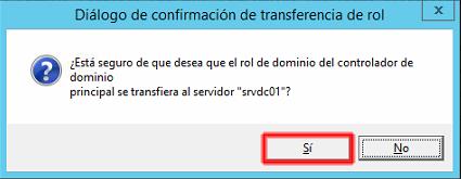 transferencia de la función PDC