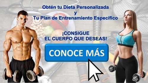 Dieta Específica Personalizada para perder peso y ganar masa muscular