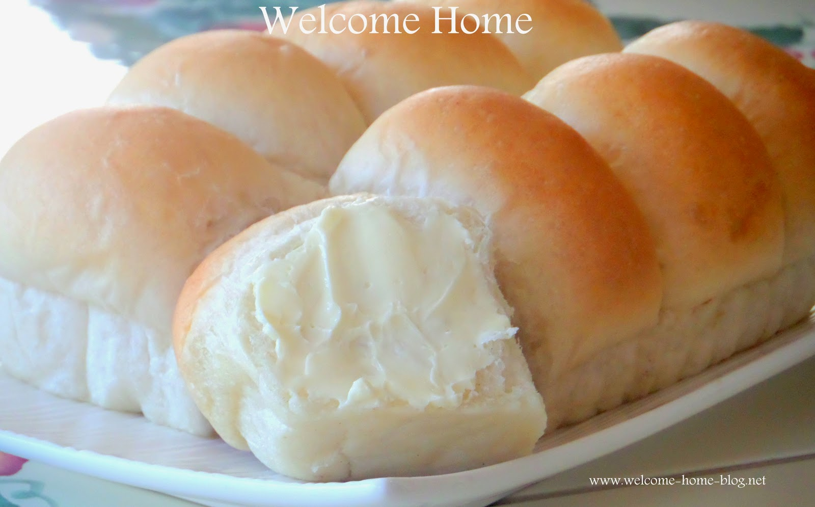 Welcome Home Blog Homemade Dinner Rolls Yeast Rolls