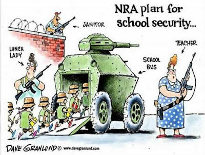 NRA plan for school security