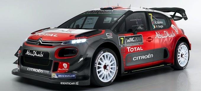 Citroën Racing presenta en sociedad el definitivo C3 WRC 2017