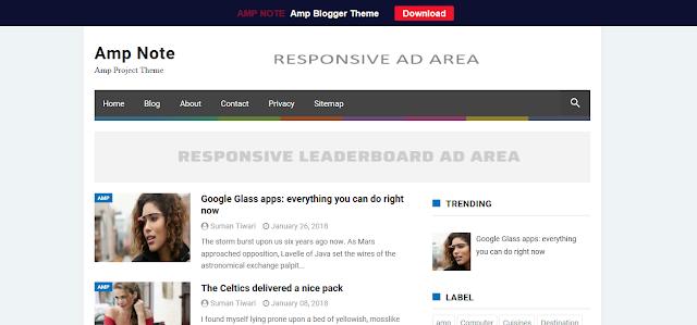 amp-note-blogger-theme-google-amp