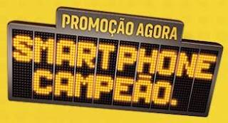Promoção Jornal Agora Smartphone Campeão Juntar Selos Cartela