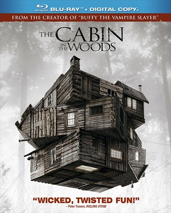 The Cabin In The Woods 2012 Dual Audio Hindi 720p BluRay 800mb