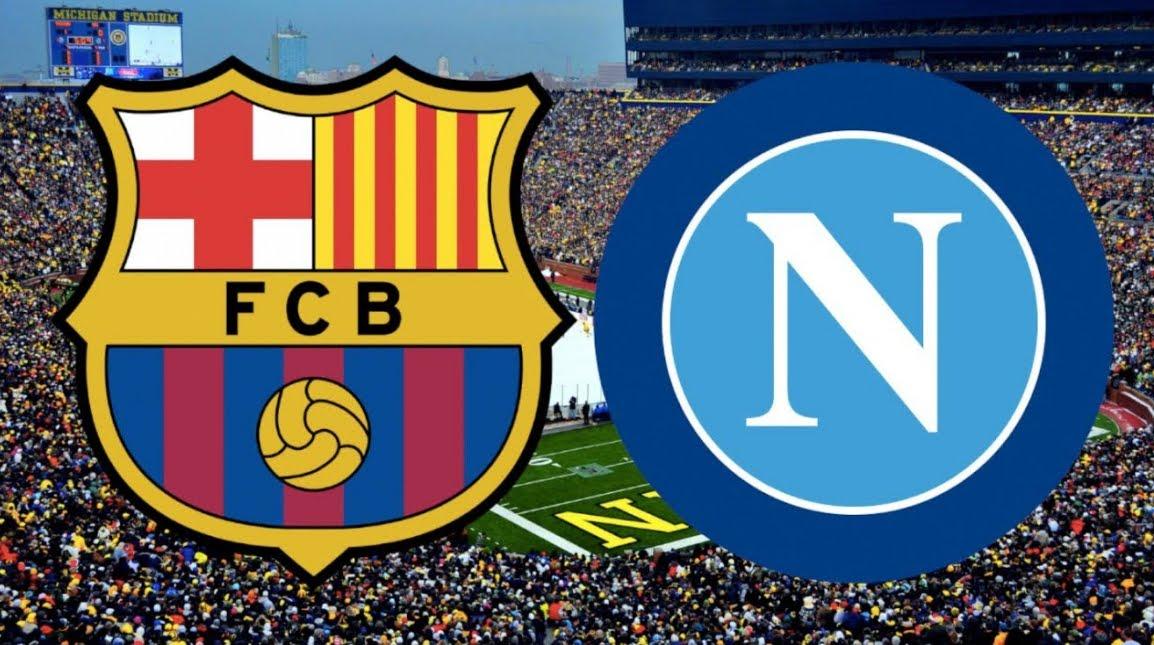 DIRETTA BARCELLONA NAPOLI Streaming, dove vederla dopo Atletico Madrid-Juventus su Sportitalia e Valencia-Inter su Dplay