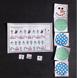 https://www.teacherspayteachers.com/Product/JollyGoodHalfOff-Patterns-Printables-and-Build-a-Snowman-Center-1480554