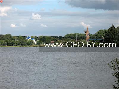 Волчковичское водохранилище на реке Птичь