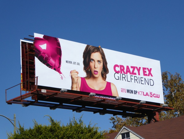 Crazy Ex Girlfriend series premiere billboard