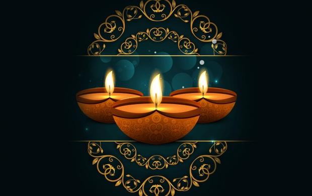 Happy Diwali Wallpaper 2017