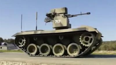 El modernizado robot militar ruso Nerejta 2 probado en la carretera