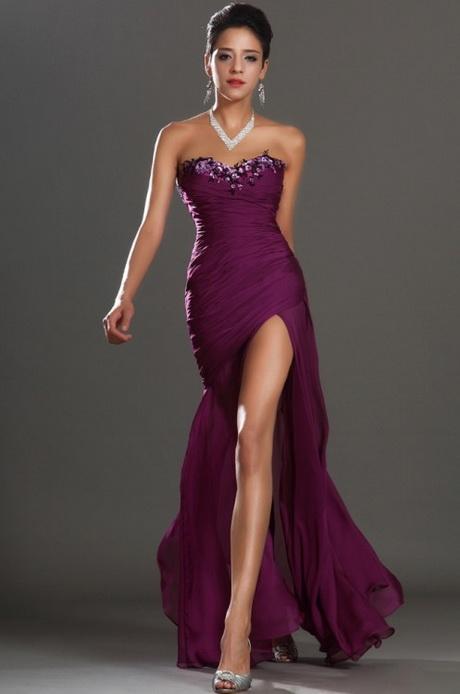 vestido de moda abierto