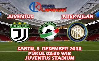 Prediksi Bola Juventus vs Inter Milan 8 Desember 2018