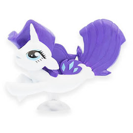 My Little Pony Series 5 Squishy Pops Rarity Figure Figure