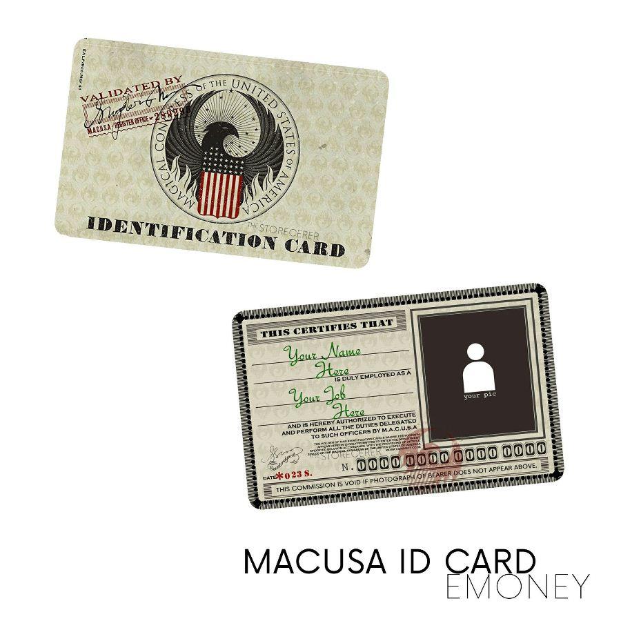 emoney macusa id card