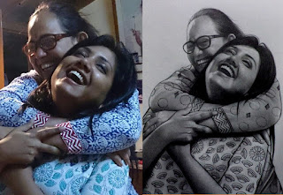 two-real-sisters-pencil-art