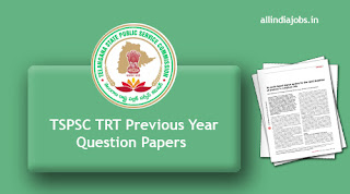 TSPSC TRT Previous Year Question Papers