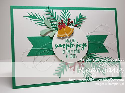 #Stampin'Up! #ChristmasPines #Christmas #Kerstmis #DIY #homedeco #Christmascards #PrettyPinesThinlits #SwirlyScribbles #EmeraldEnvy #MintMacaron #CherryCobbler #CableKnit #Stempelkeuken For more info of bestellingen: http://stempelkeuken.blogspot.com of mail naar stempelkeuken@gmail.com