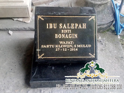 Jual Nisan Makam Granit Murah, Harga Nisan Granit Surabaya