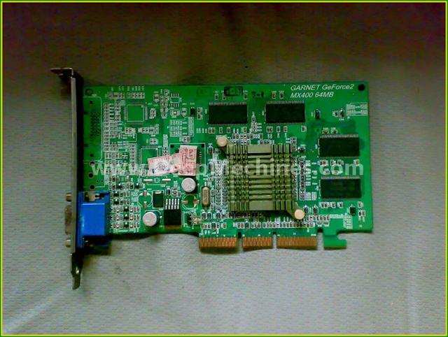 Photo GARNET GeForce 64MB V-RAM Graphic Video card