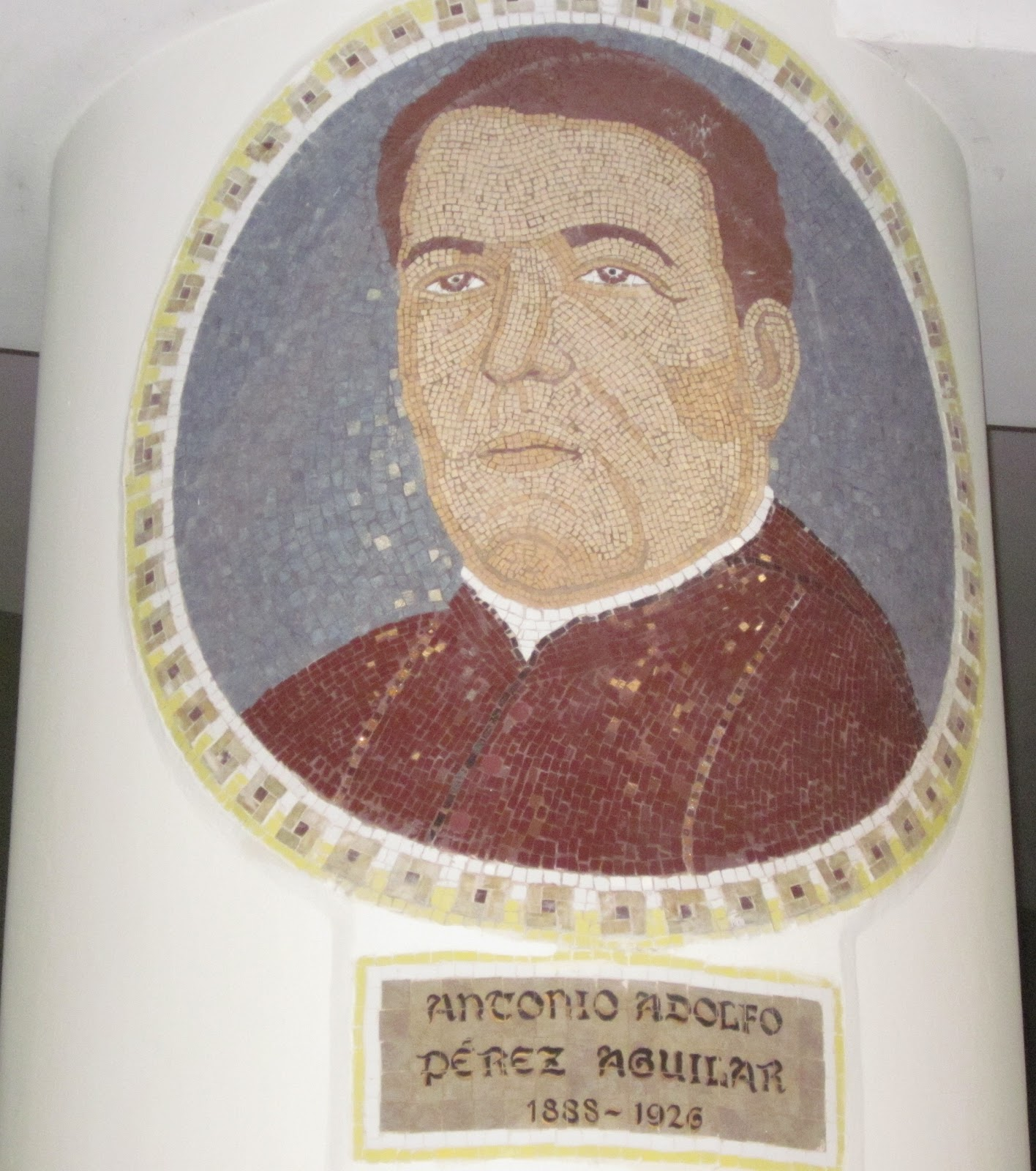 Resultado de imagen de Antonio Adolfo Pérez y Aguilar
