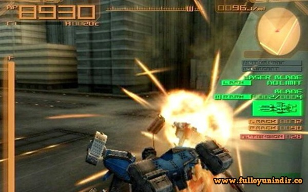 Armored Core Last Raven PS2