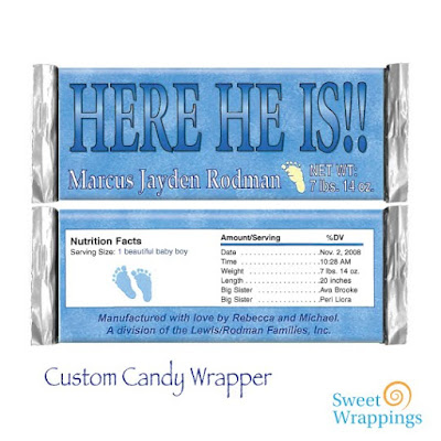 Custom Candy Wrapper