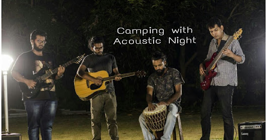 Camping with Live Acoustic Night