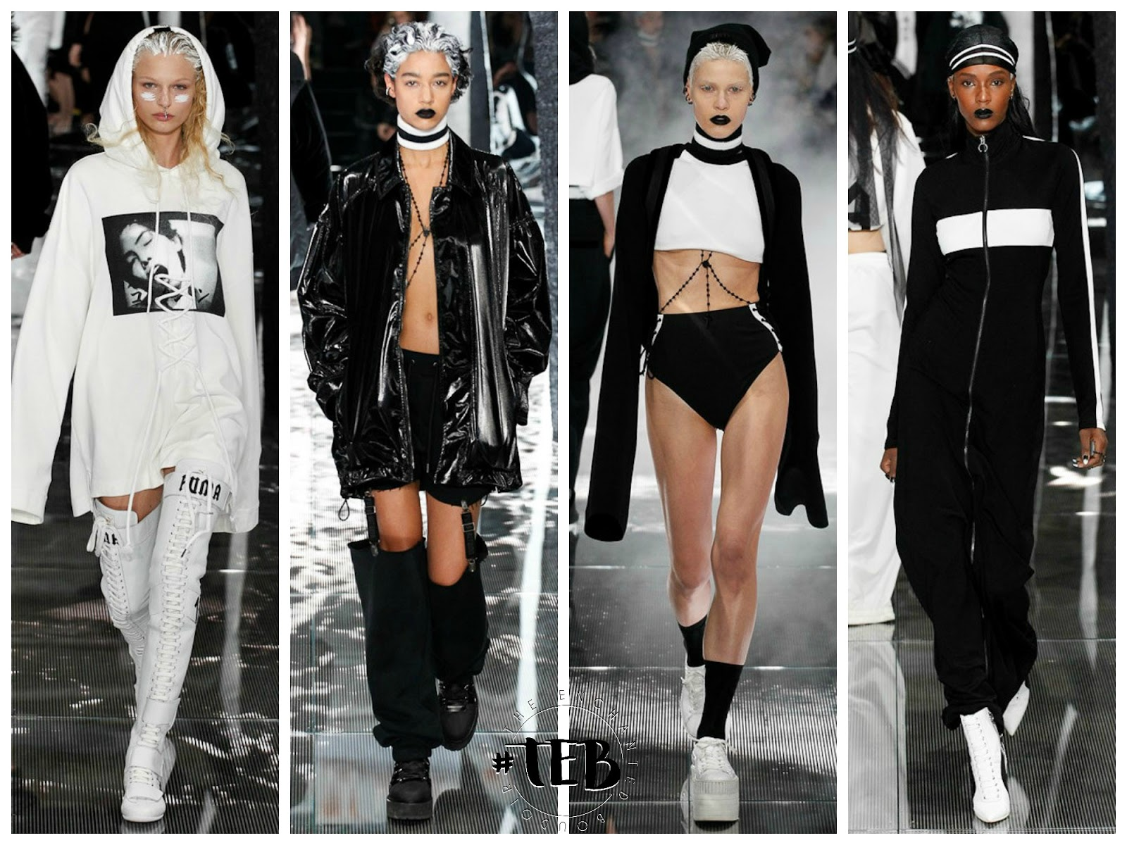 rihanna runway show for Puma at new york fashion week