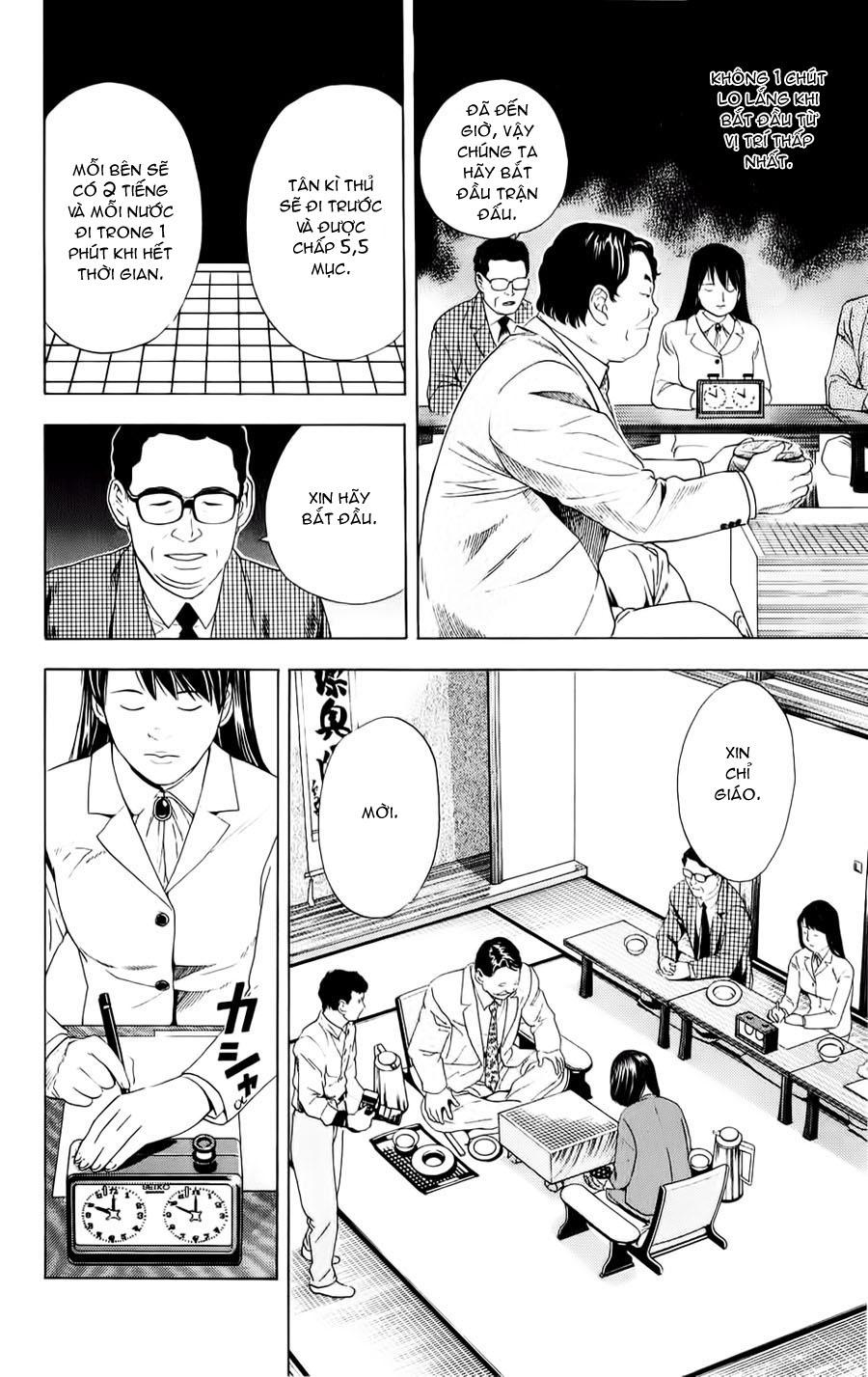 Hikaru No Go hikaru no go chap 48 trang 4