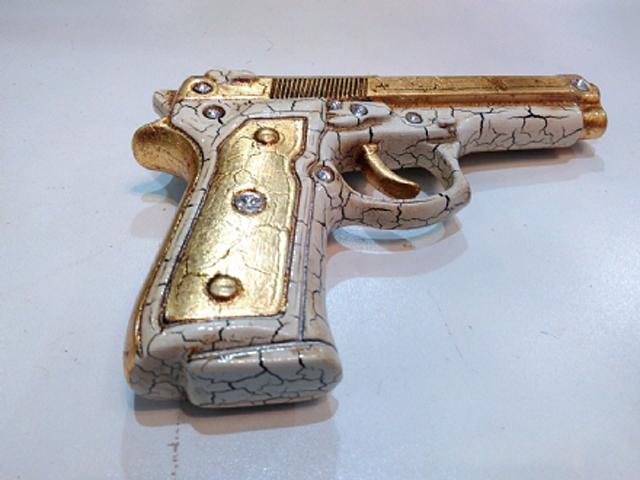 pistola bomboniera
